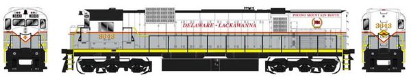 Bowser HO Scale Delaware-Lackawanna M636 DCC W/Loksound & Ditchlights