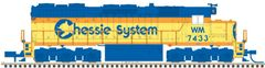 Atlas Ho Scale SD35 Chessie System DCC & Loksound *Pre-Order*