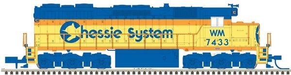 Atlas Ho Scale SD35 Chessie System DCC & Loksound *Pre-Order*