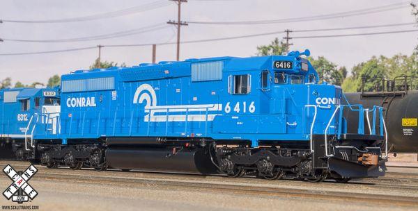 Scaletrains Rivet Counter Ho Scale SD40-2 Conrail DCC & Sound
