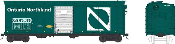 Bowser Ho Scale Ontario Northland 40ft Boxcar *Pre-order*
