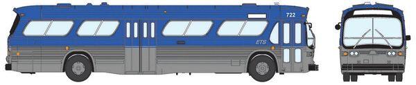 Ho Scale Rapido Edmonton Transit GMC Bus Standard Edition
