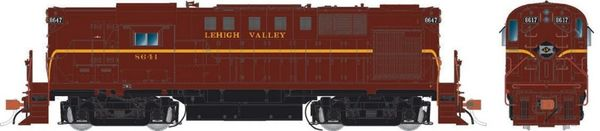 Rapido Ho Scale RS11 Lehigh Valley (ex-PRR) DCC Ready *Pre-order*