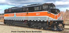 Bowser HO Scale Bangor & Aroostock GMD SD40-2F DCC Ready W/ Ditch Lights *Pre-order*