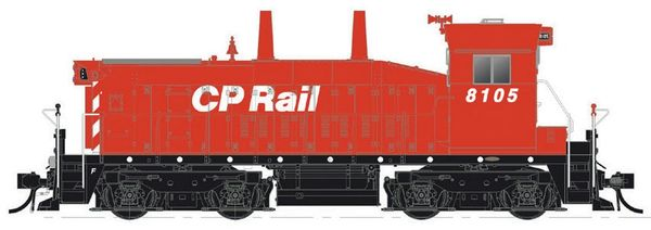 Rapido Ho Scale Canadian Pacific SW1200RS Undecorated W/ Ditchlights DCC Ready