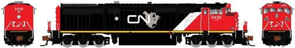 Rapido N Scale Dash 8-40CM Canadian National (North America) DCC & Sound W/Ditchlights *Pre-order*