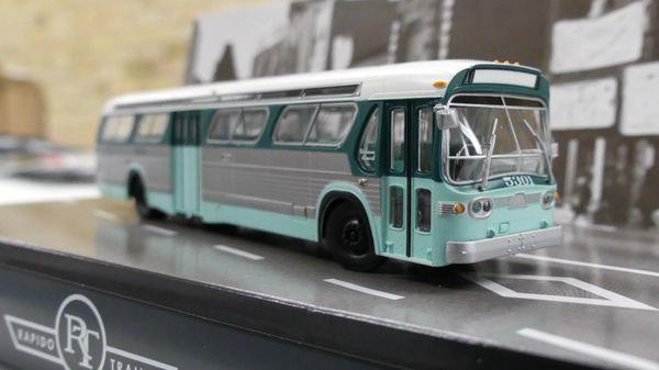Ho Scale Rapido Los Angeles (LAMTA) Transit GMC Bus Standard Edition