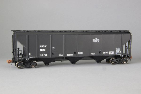 Ho Scale Scaletrains Rivet Counter Sid Richardson/SRCX Thrall 4727 Carbon Black Hoppers