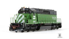 Scaletrains Rivet Counter Ho Scale SD40-2 Burlington Northern DCC & Sound *Pre-order*