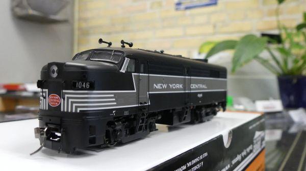 Rapido Ho Scale FA-2 New York Central DCC W/Sound