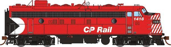 "Rapido Ho Scale FP7 CP Rail 5"" Stripe DCC & Sound"