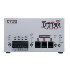 Digitrax DB220 Booster Variable Output Dual Booster 3/5/8 AMP