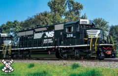 Scaletrains Rivet Counter Ho Scale SD40-2 Norfolk Southern (2nd Release) DCC & Sound *Pre-order*