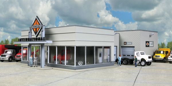 Walthers Cornerstone HO Scale International Truck Dealership