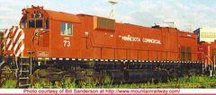 Bowser Ho Scale M630 Minnesota Commercial EX CP Rail #4573 W/Ditchlights DCC & Sound *Pre-order*