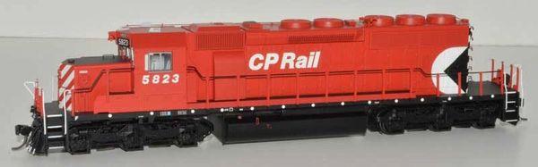 Bowser (2nd Release) Ho Scale CP Rail Sm Multi Mark (Loco-Trol Unit) SD40-2 DCC & Sound W/Ditchlights