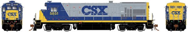 Rapido Ho Scale B36-7 CSX (Blue Roof) W/ Ditchlights DCC Ready *Pre-order*