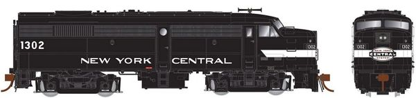 Rapido Ho Scale FA-2 Penn Central (ex-NYC Cigar Band) DCC & Sound *Pre-order*