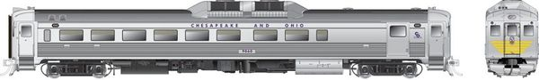 Rapido Ho Scale RDC-2 Phase 1B Chesapeake & Ohio DCC Ready *Pre-order*