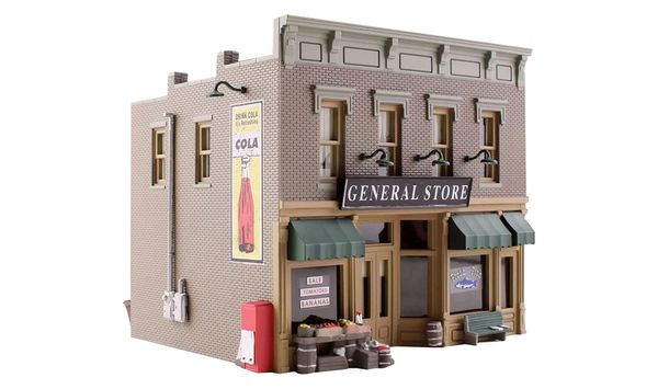 Woodland Scenics HO Scale Built & Ready Lubener's General Store