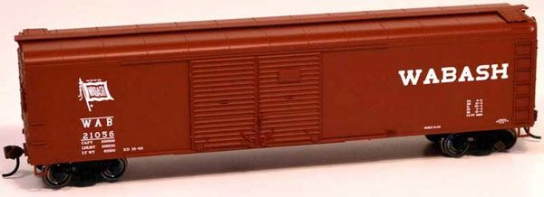 Bowser Ho Scale Wabash X32 50ft Boxcar