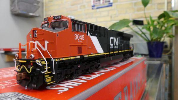 Scaletrains Rivet Counter Ho Scale ET44AC Tier 4 GEVO Canadian National (3rd Release) DCC & Sound