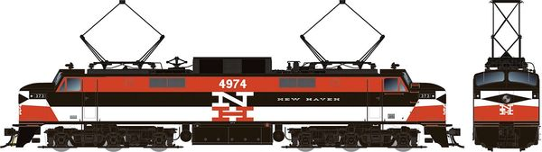 Rapido HO Scale EP-5 Electric Penn Central – New Haven Repaint (W/ Vents) DCC & Sound *Pre-order*