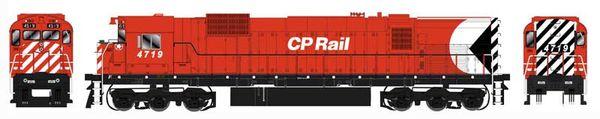 "Bowser HO Scale CP Rail M636 8"" Stripe W/ Water Tank, Ditchlights & Mod. Air Intake DCC Ready"