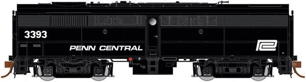 Rapido Ho Scale FB-2 Penn Central (black), ex-New Haven DCC Ready *Pre-order*