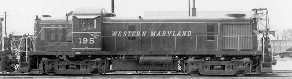 Bowser HO Scale RS-3 Western Maryland DCC Ready *Pre-order*