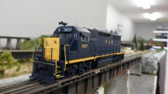 Walthers Proto GP35 Chesapeake & Ohio DCC Ready