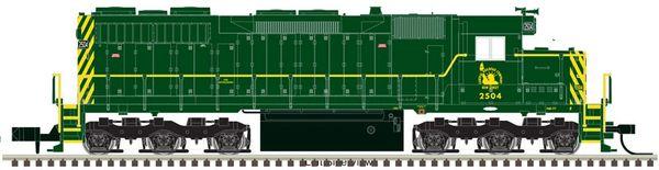 Atlas Ho Scale SD35 New Jersey Central DCC & Loksound *Pre-Order*