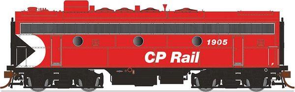 """Rapido Ho Scale F7B/F9B CP Rail 5"""" Stripe DCC & Sound *Pre-order*"""