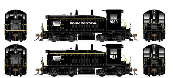 Rapido Ho Scale SW1200 Penn Central DCC Ready *Pre-order*