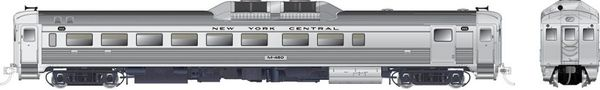 Rapido Ho Scale RDC-2 Phase 1B New York Central (Early) RR DCC W/Sound