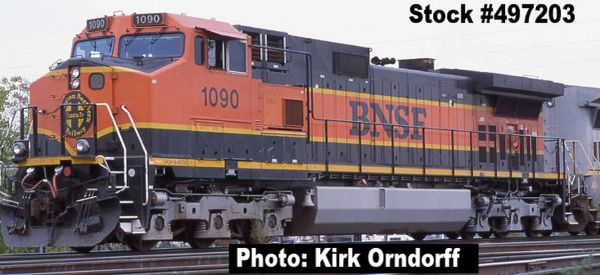 Intermountain Railway Ho Scale C44-9W (Dash 9) BNSF Heritage DCC W/Sound *Pre-Order