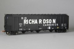 "Ho Scale Scaletrains Rivet Counter Sid Richardson/SRCX Thrall 5750 ""1970's Version"" Carbon Black Hoppers"