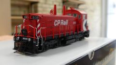 "Rapido Ho Scale Canadian Pacific SW1200RS 8"" Stripe Cab Multi-mark DCC W/Sound & Ditchlights"