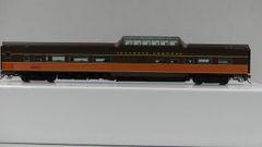 Rapido Ho Scale Budd Mid Train Dome Cars Illinois Central