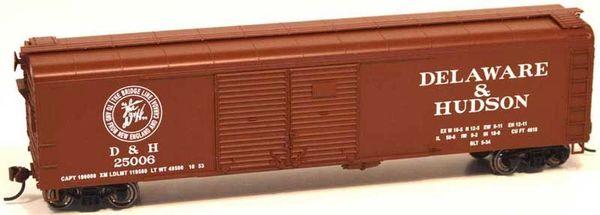 Bowser Ho Scale Delaware & Hudson X32 50ft Boxcar