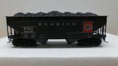 Kadee Custom 50 Ton AAR Standard 2 Bay Offset Open Hopper Reading# 82155