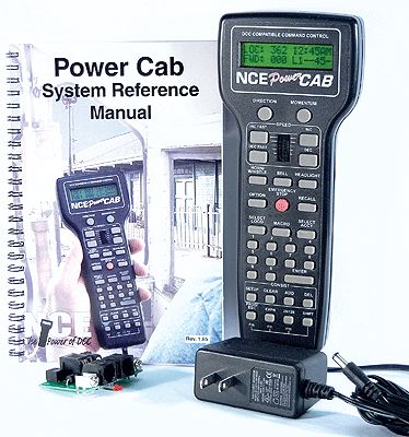 NCE PowerCab DCC Starter Set