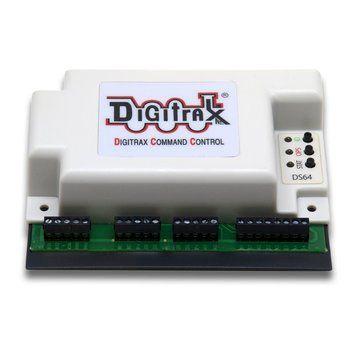 Digitrax DS 64 Quad Stationary Decoder