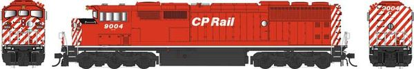 Bowser Ho Scale (2nd Run) SD40-2F CP Rail Round Port Hole & White Sill W/Ditchlights DCC & Sound *Pre-order*
