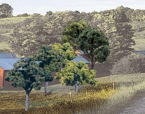 "Woodland Scenics 2-3"" Mixed Green Premium Trees 23/Pk"