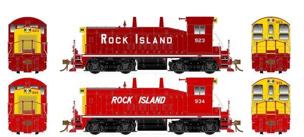 Rapido Ho Scale SW1200 Rock Island DCC & Sound *Pre-order*