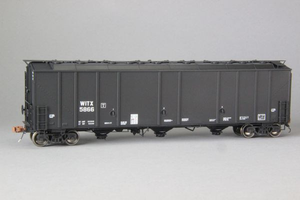 "Ho Scale Scaletrains Rivet Counter Witco/WITX Thrall 5750 ""1970's Version"" Carbon Black Hoppers"