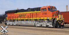 Scaletrains Rivet Counter Ho Scale ET44C4 Tier 4 GEVO BNSF DCC Ready