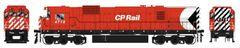 """Bowser HO Scale CP Rail M636 8"""" Stripe W/ Water Tank, Ditchlights & Mod. Air Intake DCC W/Loksound"""
