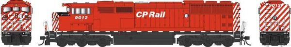 Bowser Ho Scale (2nd Run) SD40-2F CP Rail Rectangular Port Hole & Sill Dashes W/Ditchlights DCC & Sound *Pre-order*